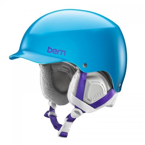 Snowboardová helma Bern Muse Satin ocean blue - AKCE1