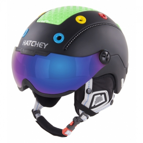 Dětská helma Hatchey Rival Visor black1
