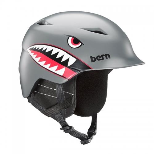Dětská helma Bern Camino satin grey flying tiger 2019/20201