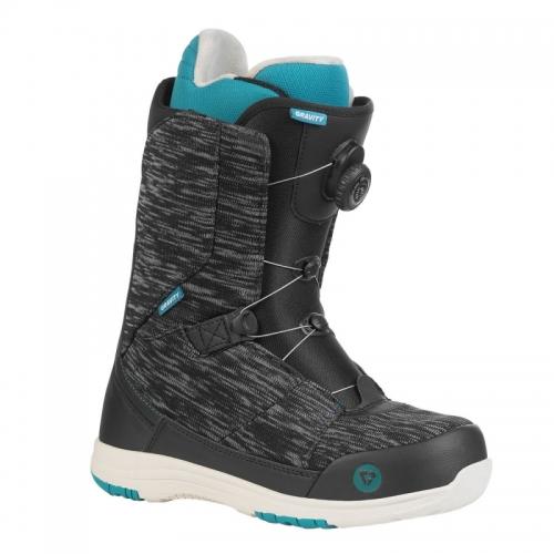 Dámské boty Gravity Aura Atop black denim/teal1