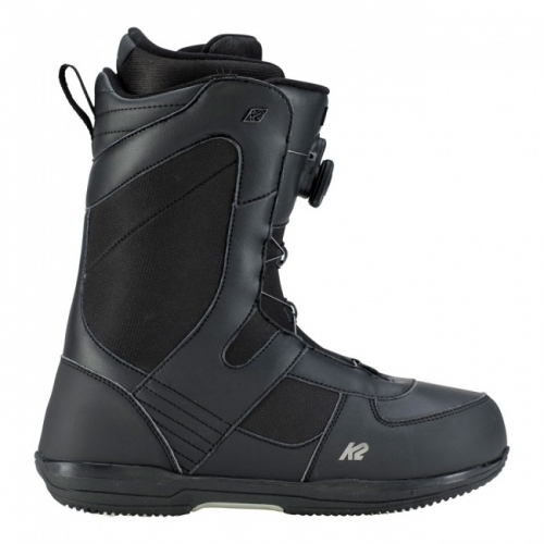 Snowboardové boty K2 Market black/černé s utahováním BOA 1