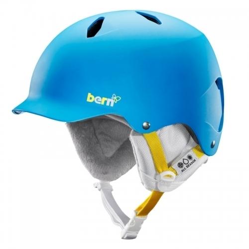 Snowboardová helma Bern Bandita satin peacock blue - AKCE1