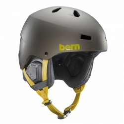 Snowboardová helma Bern Macon Matte charcoal grey