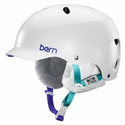 Dámská helma Bern Lenox satin white