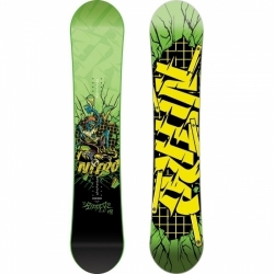 Juniorský snowboard Ripper wide (širší)