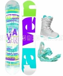 Dámský snowboardový komplet Raven Venus 2018