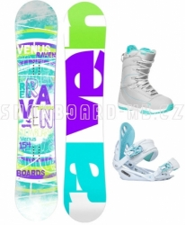 Dámský snowboard komplet Raven Venus 2018