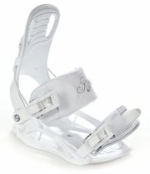 Dívčí snowboardový set včetně bot Raven Pearl white - AKCE-3