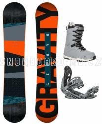 Snowboardový komplet Gravity Bandit 17/18