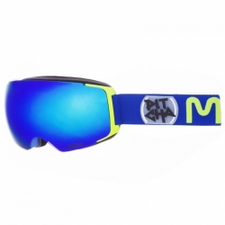 Brýle Pitcha Mango Navy fluo/blue mirrored
