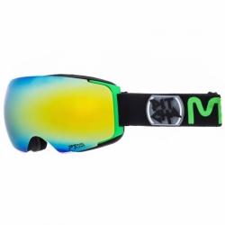 Brýle Pitcha Mango black/green/green mirrored
