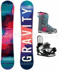 Dívčí junior snowboard komplet Gravity Fairy