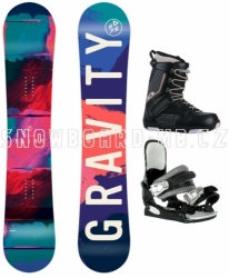 Dívčí snowboardový komplet včetně bot Gravity Fairy