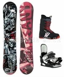 Snowboard komplet Beany Hell (boty 39)