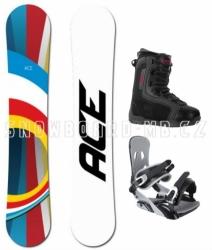 Univerzální snowboard komplet Ace B52