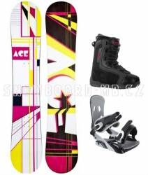 Dámský snowboardový set Ace Oddity S3 s černými botami