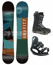 Snowboard komplet Gravity Empatic 2019/20