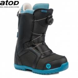 Dětské boty Gravity Micro Atop black 2020