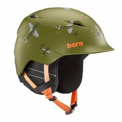 Dětská helma Bern Camino matte green dogfight 2019/2020