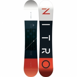 Snowboard Nitro Team wide gullwing 2019/20