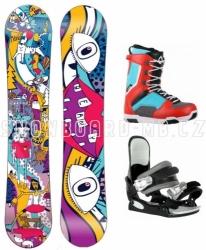 Juniorský snowboardový komplet Beany Bark pro dívky i chlapce