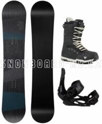 Snowboardový komplet Hatchey General s vázáním Head a botami Gravity