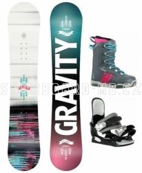 Dětský snowboard komplet Gravity Fairy 2020/21