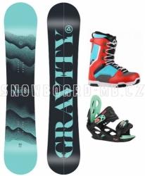 Dámský snowboard komplet Gravity Sirene 2020/21