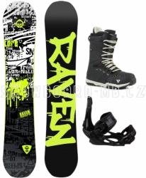 Snowboardový komplet Raven Core s botami Gravity