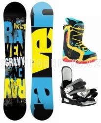 Dětský snowboard komplet Raven Gravy Junior