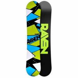 Snowboard Raven Shape black