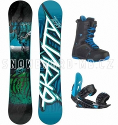 Snowboard komplet Gravity Team blue 2015/16