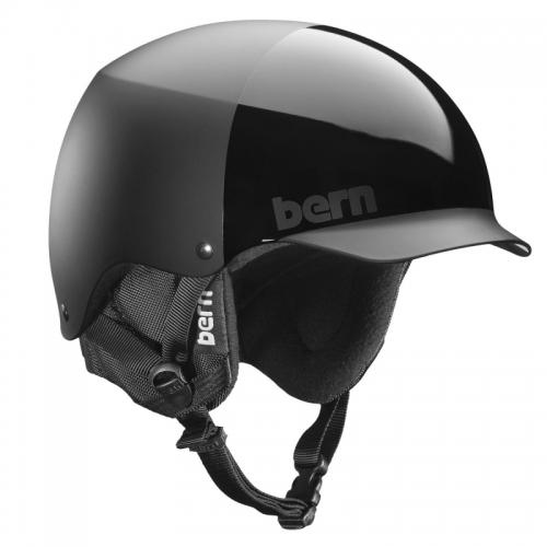 Snowboardová helma Bern Baker all black 0b6de09cdb2