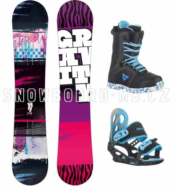 980d6663b5 Dětský snowboardový komplet Gravity Fairy